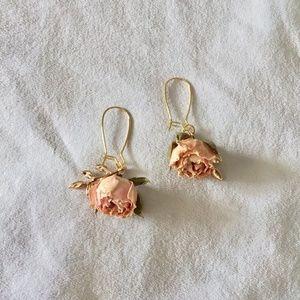 Jewelry - ROSE BUD EARRINGS